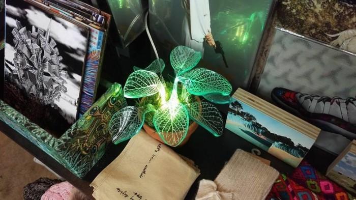 led leuchtmittel Marina DeFrates' tischlampe deko pflanze
