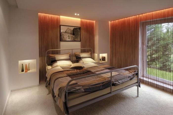 led lichtleiste schlafzimmer einrichten ideen