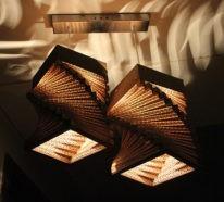 Vom Basteln mit Pappe zum exzellenten Lichtdesign- 42 inspirative Deko Ideen