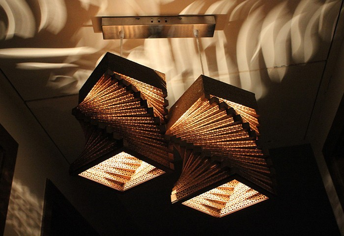 vom basteln mit pappe zum exzellenten lichtdesign 42 inspirative deko ideen. Black Bedroom Furniture Sets. Home Design Ideas