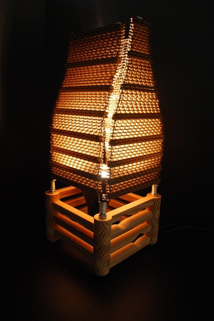 lichtdesign basteln mit pappe 19