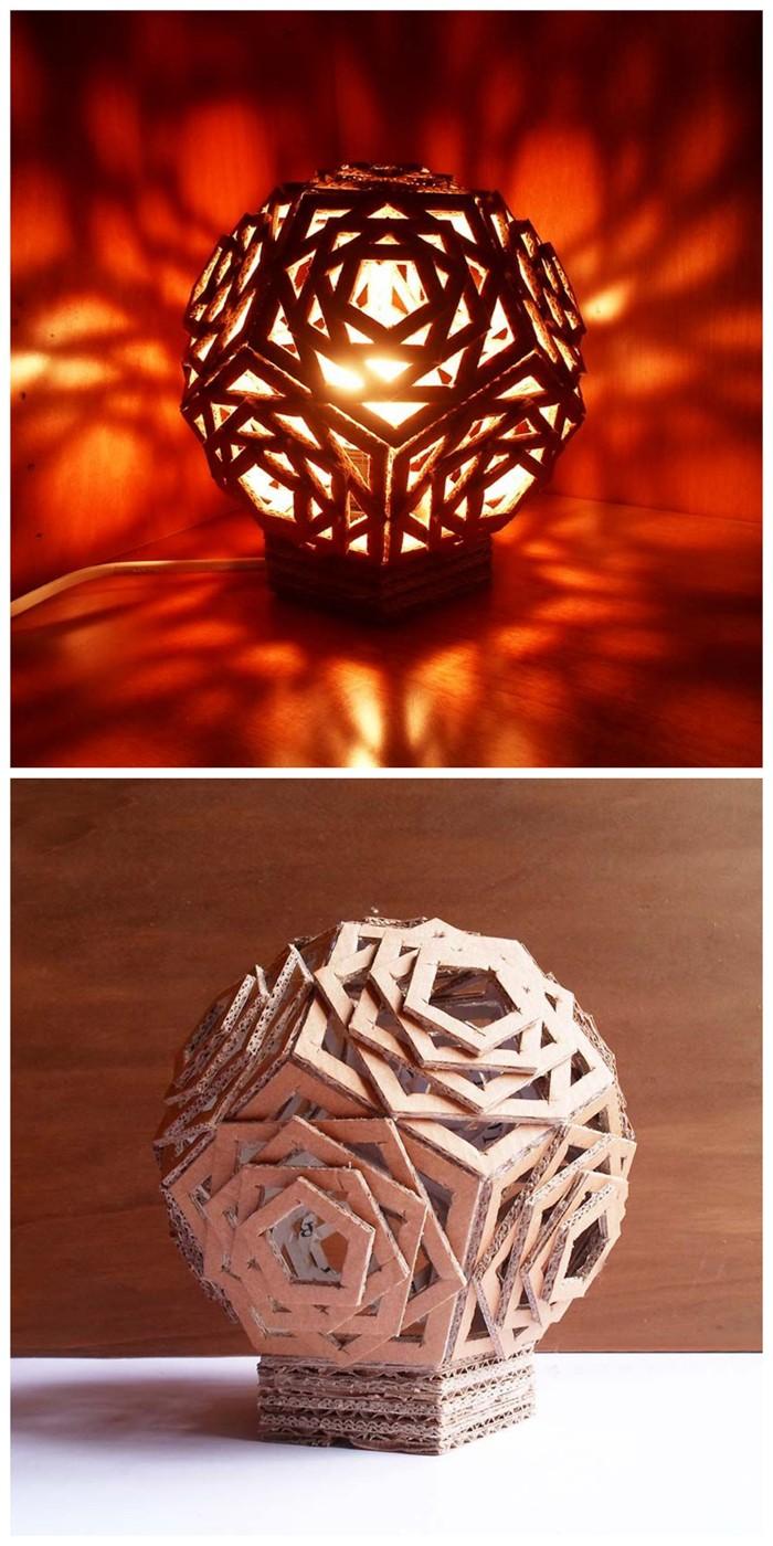 lichtdesign basteln mit pappe 21