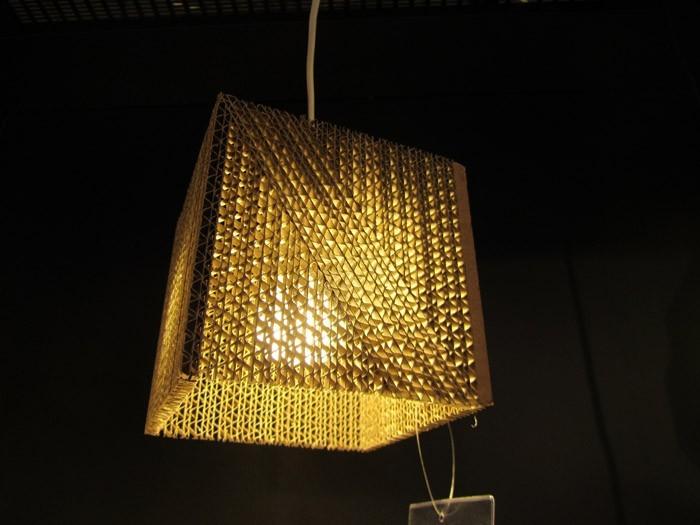 vom basteln mit pappe zum exzellenten lichtdesign 42. Black Bedroom Furniture Sets. Home Design Ideas