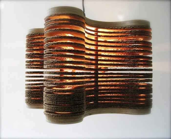 lichtdesign basteln mit pappe 3