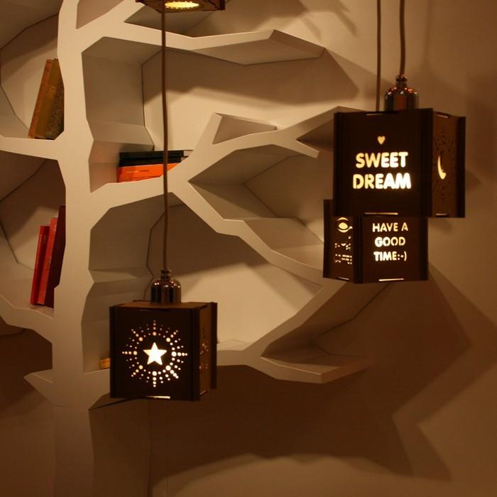 lichtdesign basteln mit pappe 40