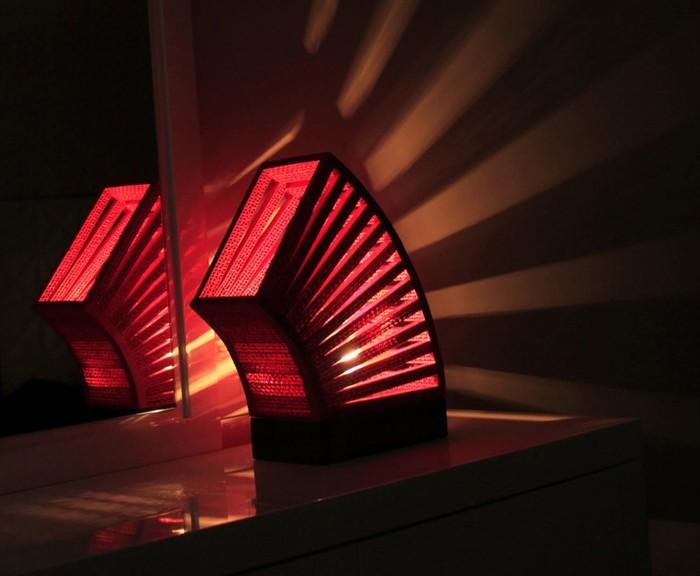 lichtdesign basteln mit pappe 9