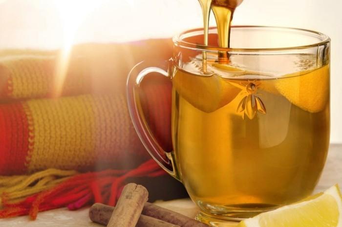 manuka honig gesund tee trinken zitrone zimt