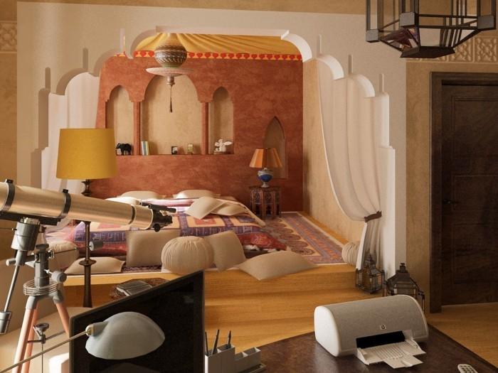 marokanischer stil schlafzimmer