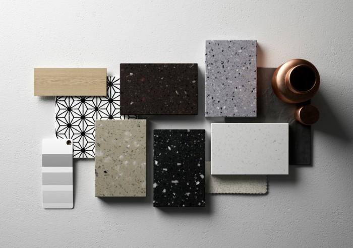 mineralwerkstoff hi macs lucia kollektion innovatives material