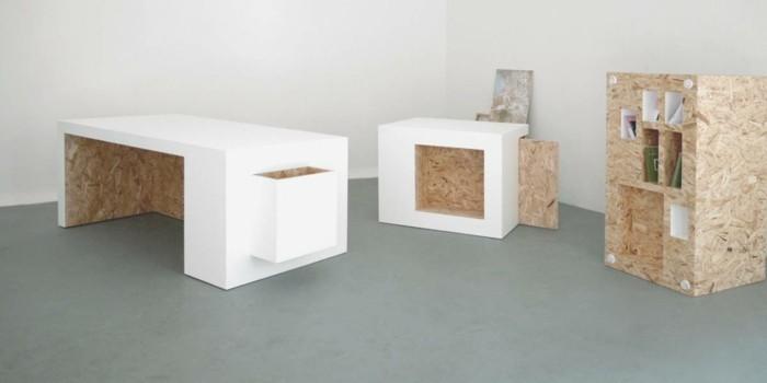 mineralwerkstoff hi macs möbel innovatives material einneneinrichtung ideen