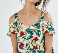 Bluse mit Blumenmuster- Eine Lösung sowohl für das Alltagsoutfit, als auch für den Business Look