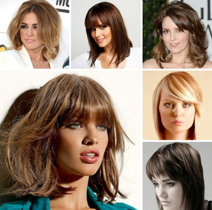 moderne frisuren mittellang lifestyle trends