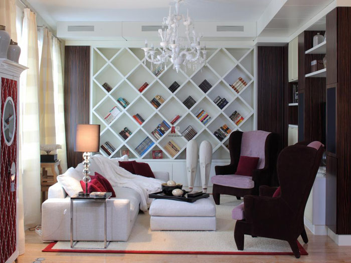 moebeldesign regale einrichtungsbeispiele deko ideen wohnzimmer designermoebel 33