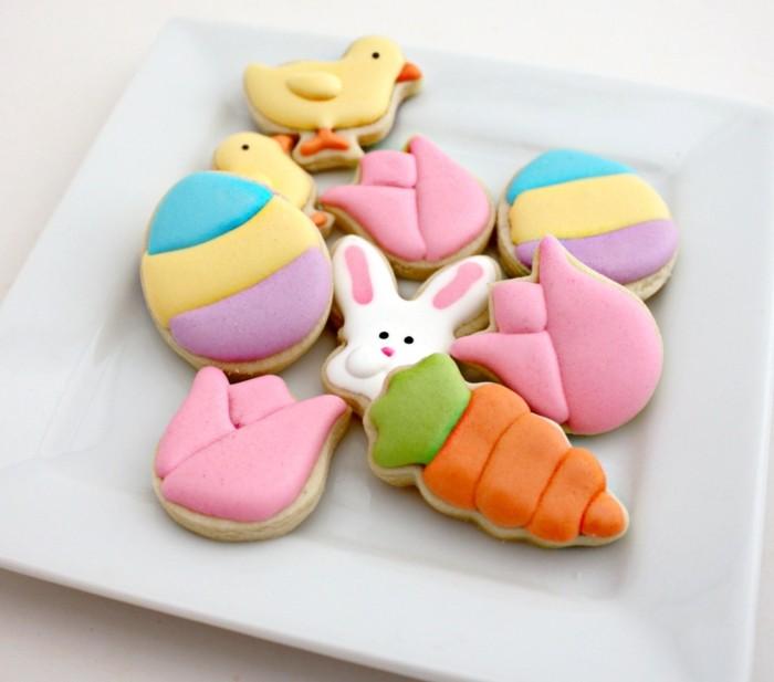 osterplätzchen backen kekse verzieren kreativ dekorieren