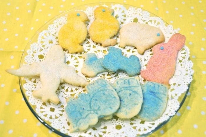 osterplätzchen backen kekse verzieren schöne figuren ausgefallene ideen