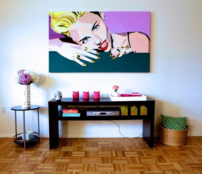 pop art design zuhause