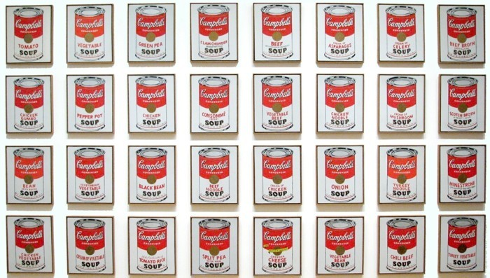 pop art kuenstler suppendosen