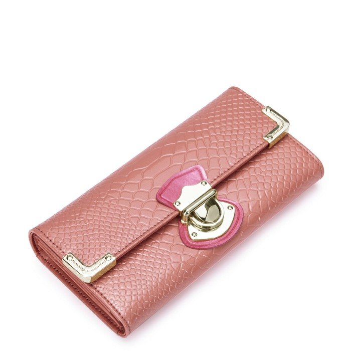 portmonee kaufen modernes design rosanuancen