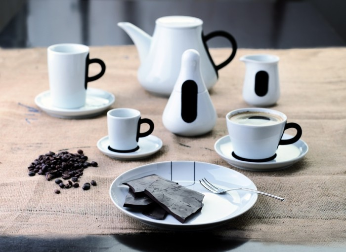 geschirr kahla touch kaffeeservice tassen teller