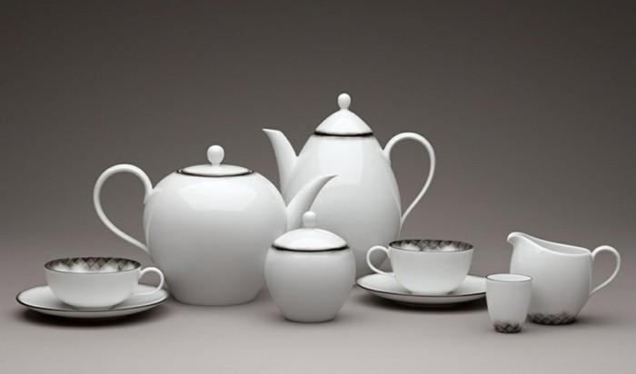 porzellan geschirr teekannen schüsseln tassen zuckerdose