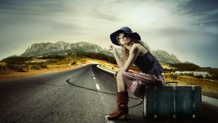 reisen alleine frau
