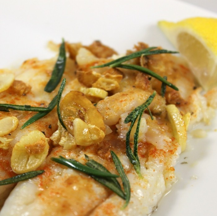 rosmarin fish lecker essen