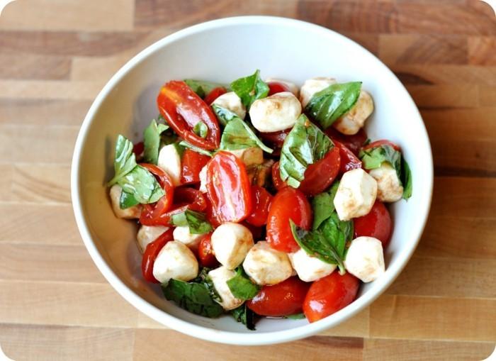 salat basilikum