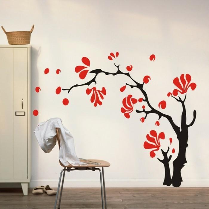 schöne wandtattoos wanddeko ideen kinderzimmer dekorieren ideen