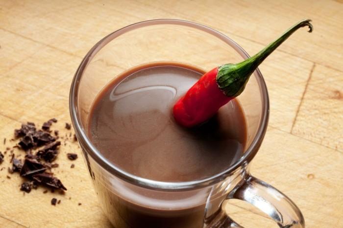 schokolade gesund chili