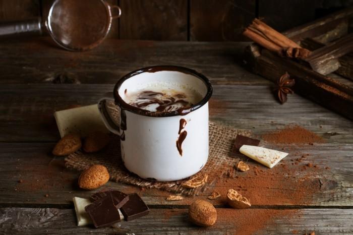 selbstgemachte schokolade heiss gesund