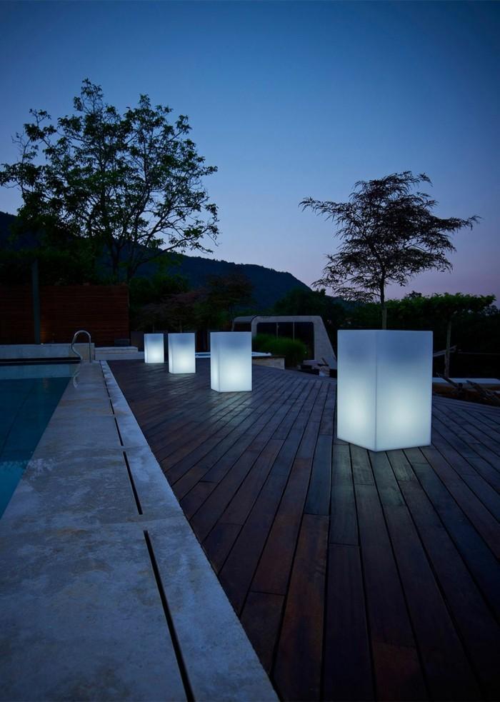 solar gartenbeleuchtung 35 beispiele wie man den garten. Black Bedroom Furniture Sets. Home Design Ideas