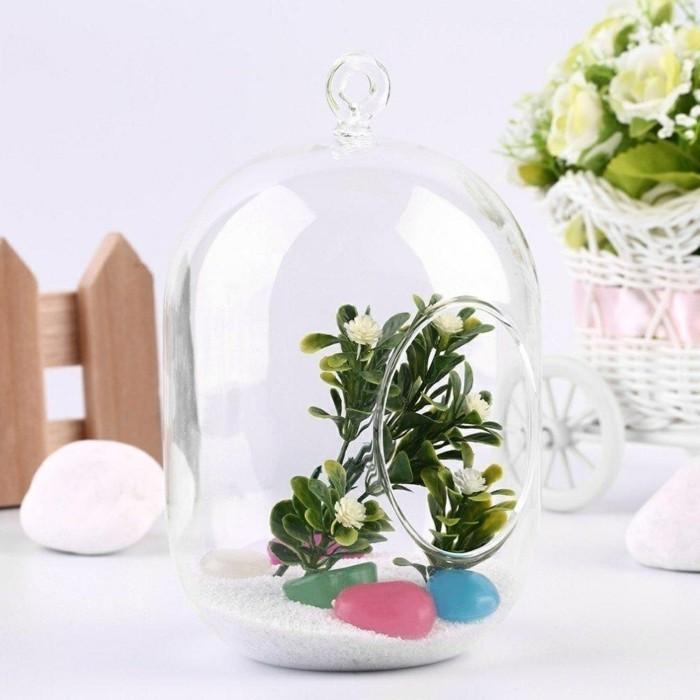 sukkulenten zimmerpflanzen dekoideen stilvoll terrarium