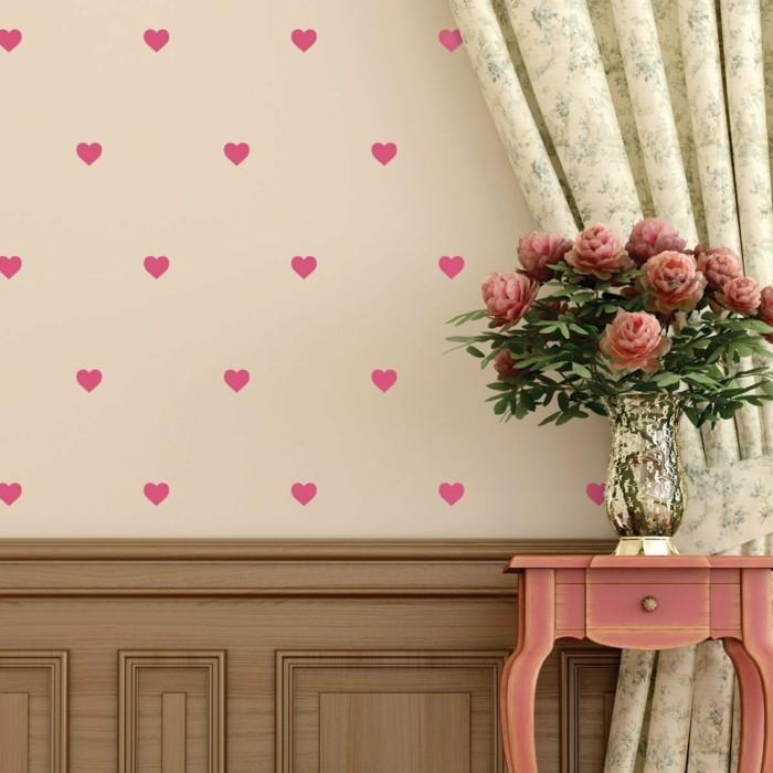 Alles Liebe zum Valentinstag - 30 Wanddesigns mit Herzen, wie Sie ...
