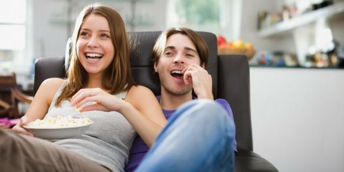 valentinstag ideen zusammen sein sich film ansehen