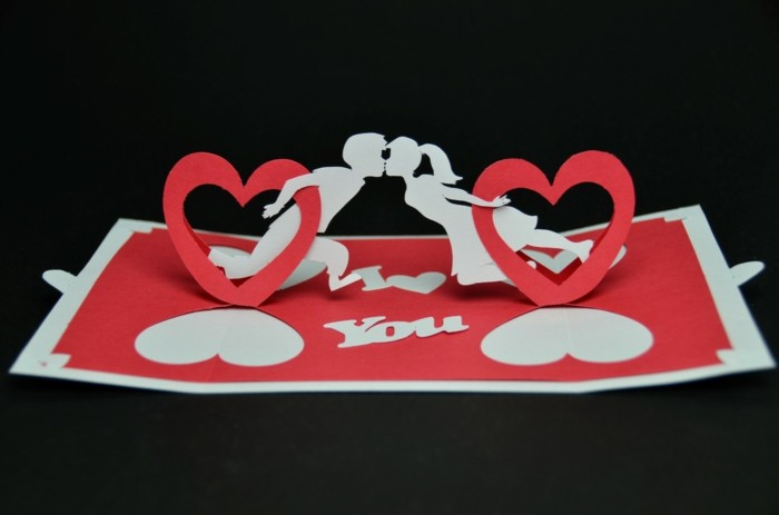 valentinstagsgeschenk für ihn valentinstagskarte selber basteln