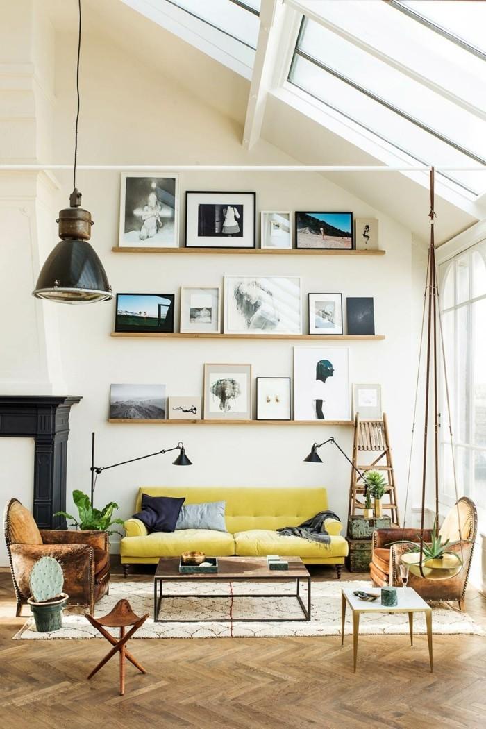 Eklektisch Einrichten U2013 Moderne Einrichtungsideen Für Das Wohnzimmer