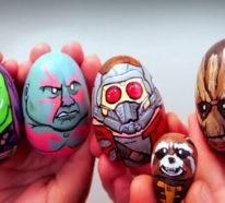 45 coole Ideen, wie man Ostereier gestalten und witzige Eier Gesichter malen kann