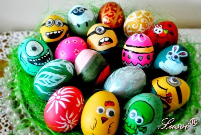 Ostereier Gestalten 45 coole ideen wie ostereier gestalten und witzige eier