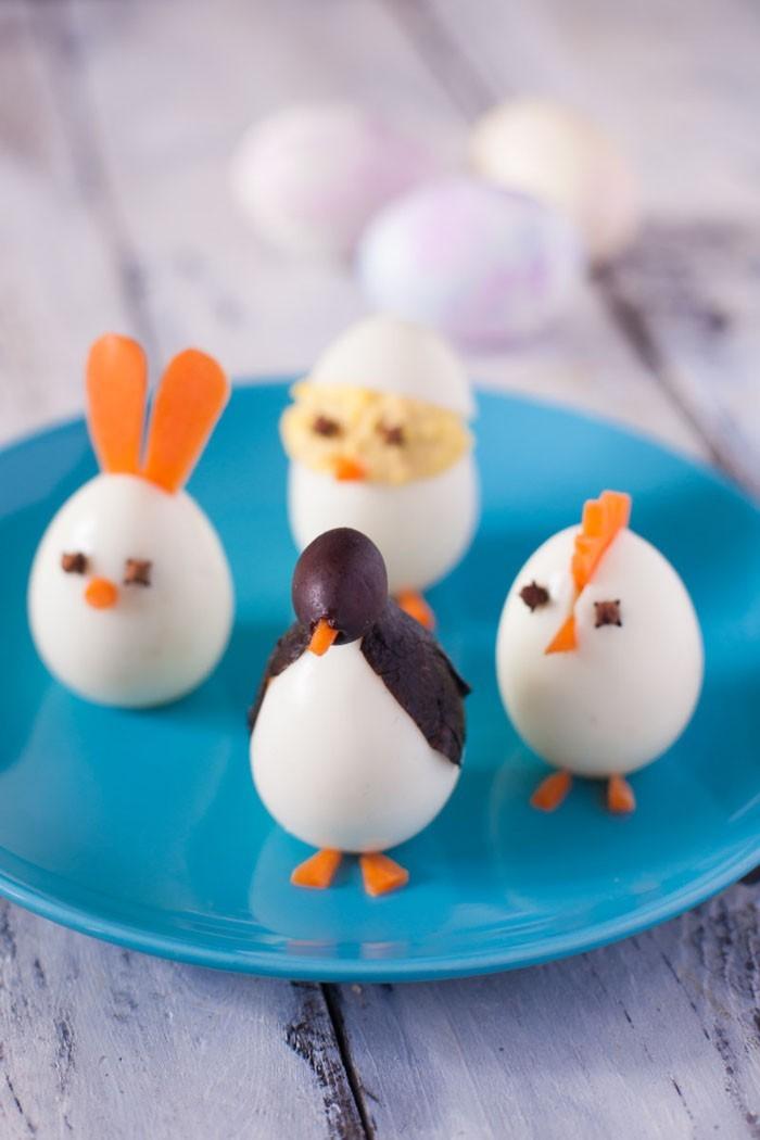 Eier Gesichter malen ostereier gestalten eier mit gesichter malen osterdeko selber machen 3D