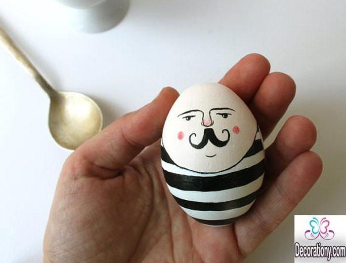 Eier Gesichter malen ostereier gestalten eier mit gesichter malen osterdeko selber machen alice im wunderland