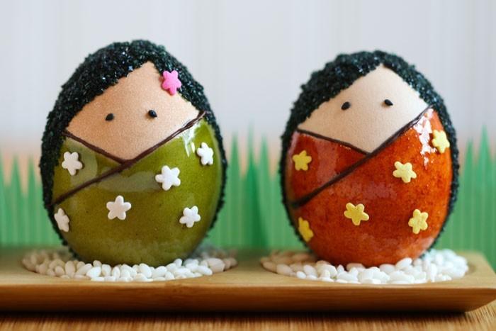 Eier Gesichter malen ostereier gestalten eier mit gesichter malen osterdeko selber machen diy dekoideen