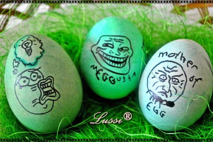 Eier Gesichter malen ostereier gestalten eier mit gesichter malen osterdeko selber machen geeks
