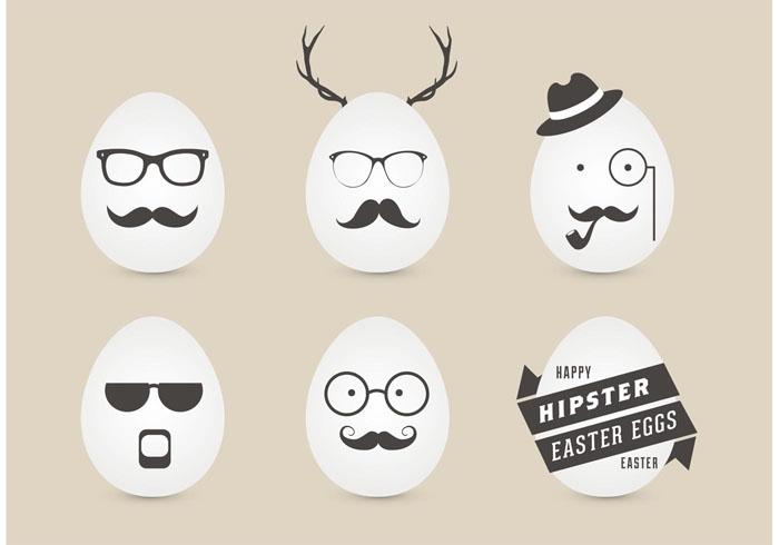 Eier Gesichter malen ostereier gestalten eier mit gesichter malen osterdeko selber machen hippster ei