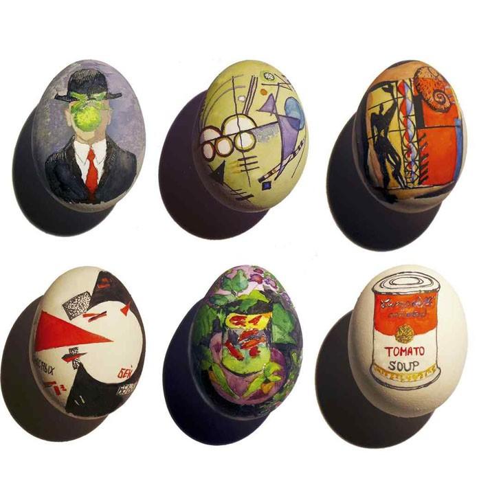 Eier Gesichter malen ostereier gestalten eier mit gesichter malen osterdeko selber machen vorlagen