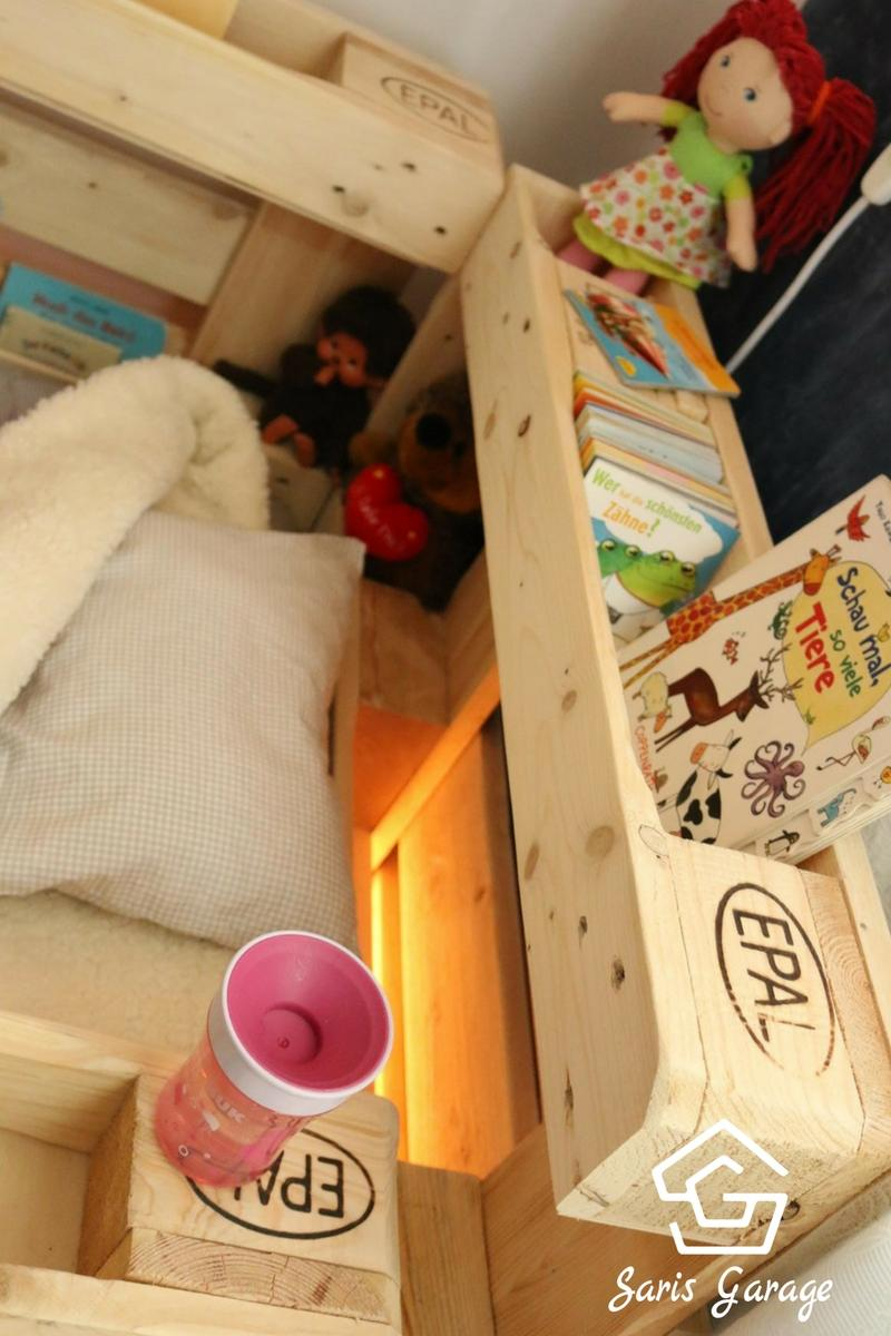 Kinderbett aus Europaletten DIY- Saris Garage (3)