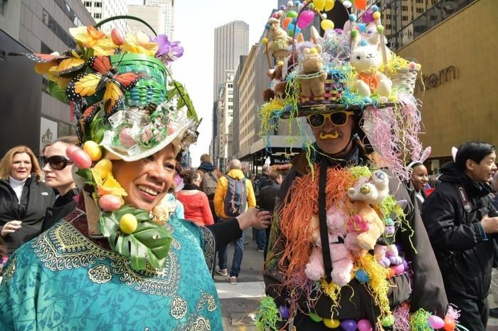 NYC ausgefallene Kostüme