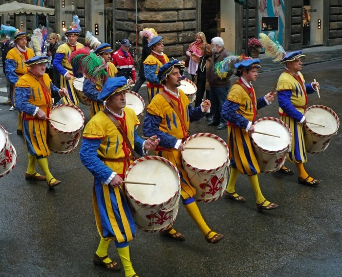 Parade in Florenz
