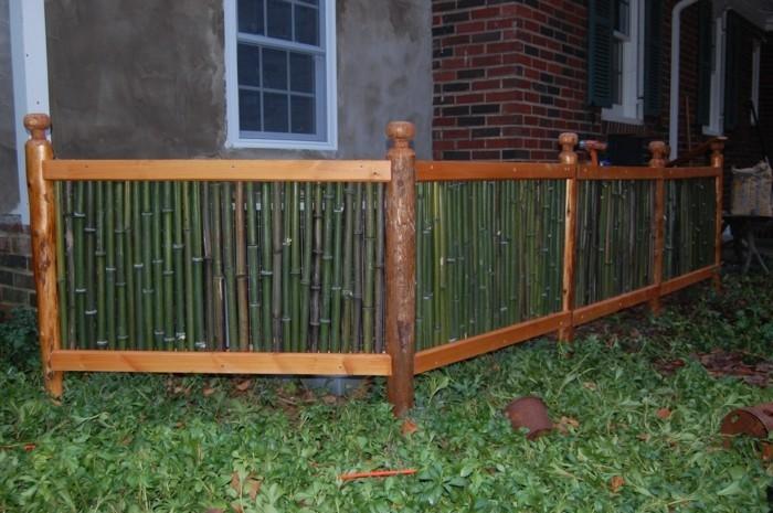 bamboo schutz fuer die klimaanlage