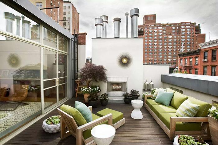 Dachterrasse Gestalten Umweltfreundliche Idee Terrassen Ideen Schon ...