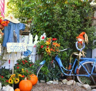 Verwandeln Sie Das Alte Fahrrad In Ein Atemberaubendes Deko Fahrrad Für  Ihren Garten!
